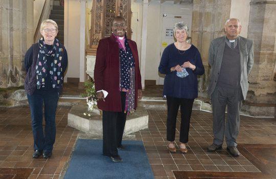 A Visit from Bishop Rose